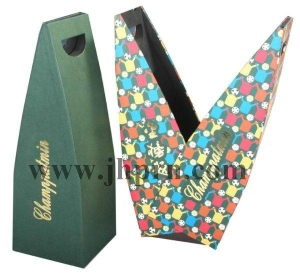 Creative_high_quality_kraft_paper_wine_packaging_case