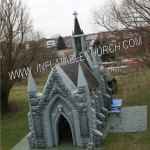 Inflatable Church Front View