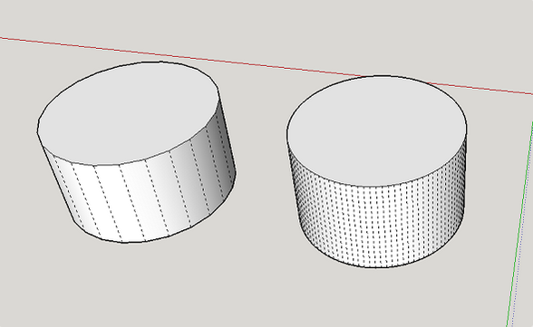 increase circle segments