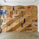 """The wall"", 2010 by Peter Sandbichler."