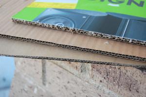 double layer cardboard