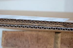 single layer cardboard