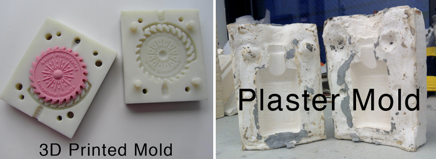 3d printed vs plaster mold