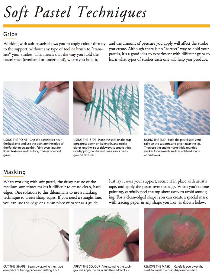 Reeves Pastel Guide