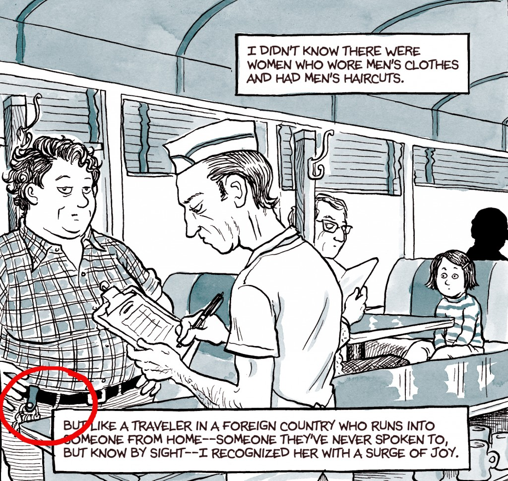 an analysis of the points of view and truth in the memoir fun home by alison bechdel Mirrored discourse in alison bechdel's fun all of these experiences bechdel explores in her 2006 graphic narrative memoir, fun home: view all notes bechdel.