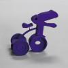 "Abbie Kaiser ""Dino-tricycle"""