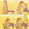 """Rachel Griffith """"Watercolor graphic novel"""""""