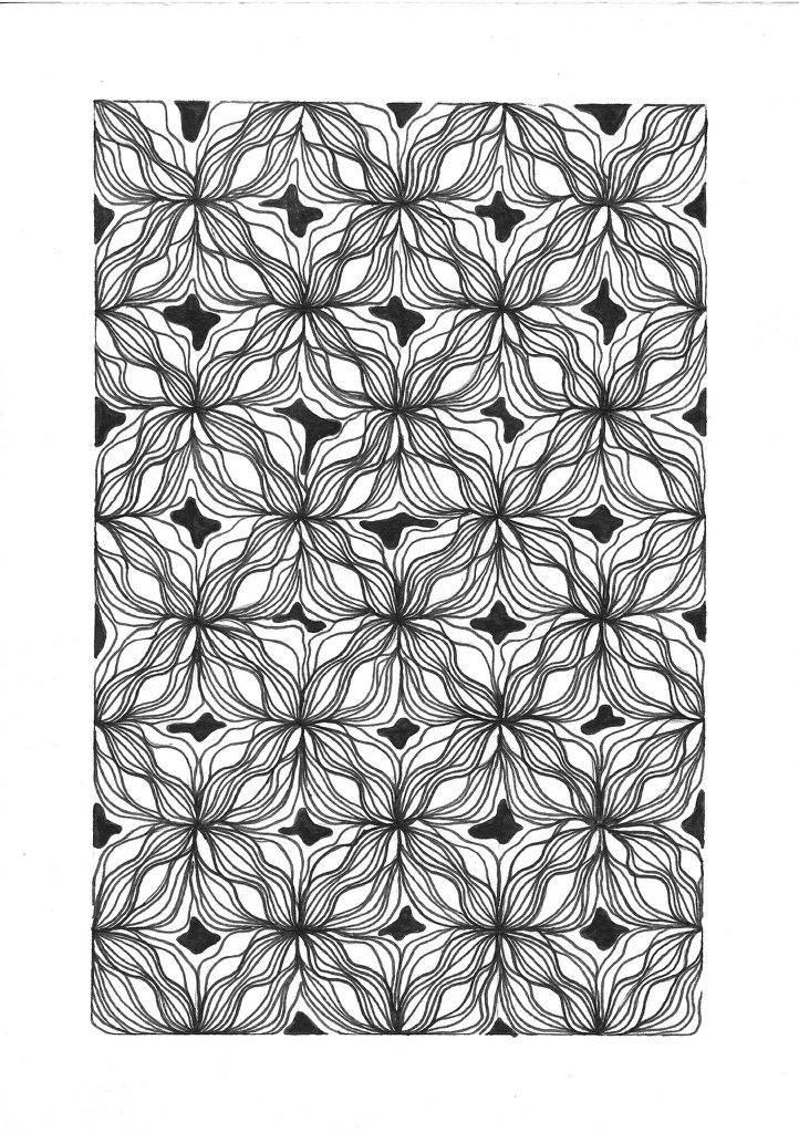 """Margo Rego, """"Pattern Studies"""""""