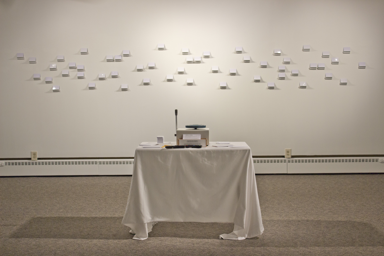 """""""Vanilla Utopia"""" installation"""