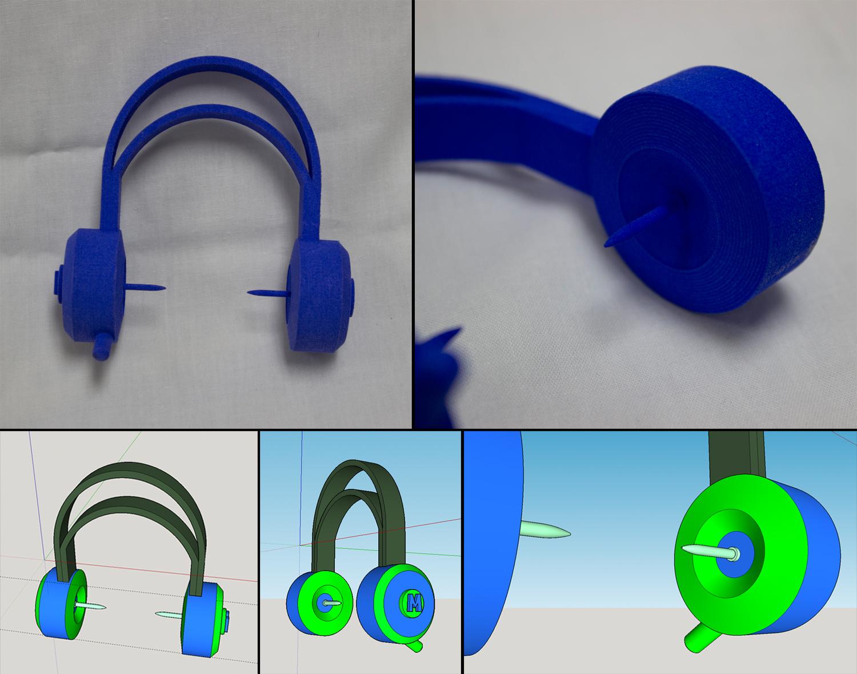 """Nail-Headphones"" Matt Powell"