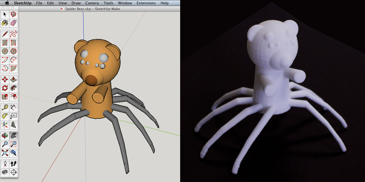 """Steph Talerico """"Spider Bear"""""""