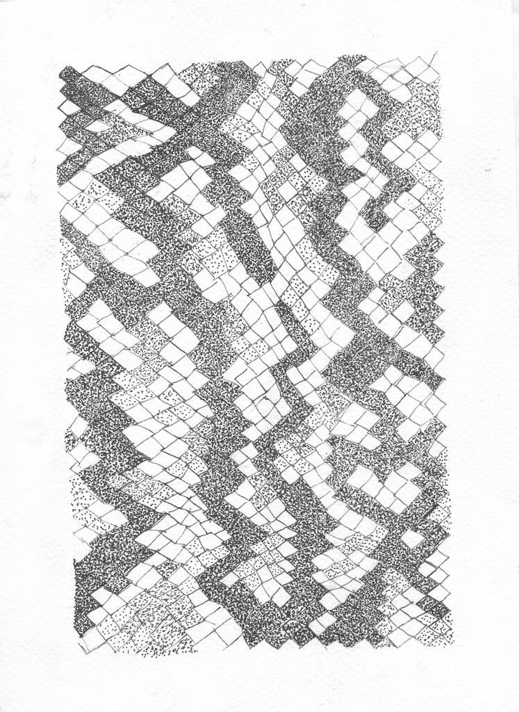 "Delvina Driscoll, ""Pattern Studies"""