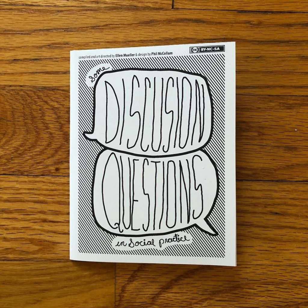 Social Practice Zines: Discussion Questions